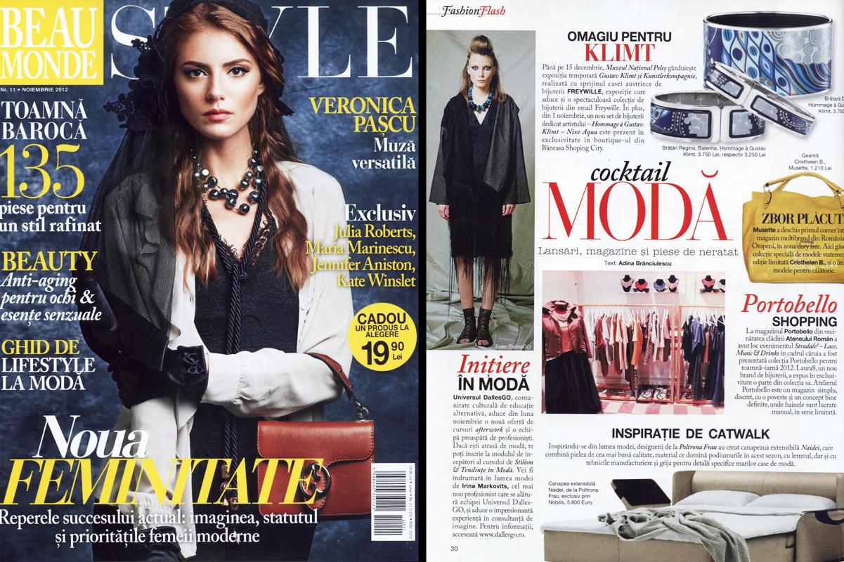 Beau Monde noiembrie 2012