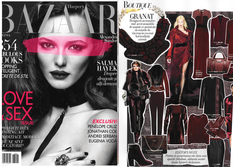 Harper's Bazaar Ianuarie 2013